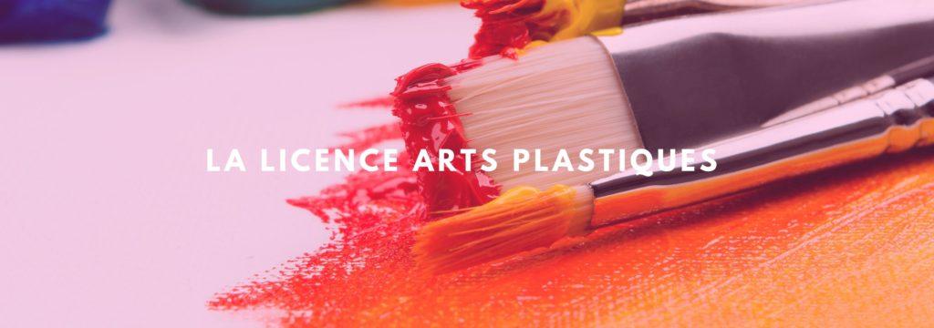 La licence arts plastiques