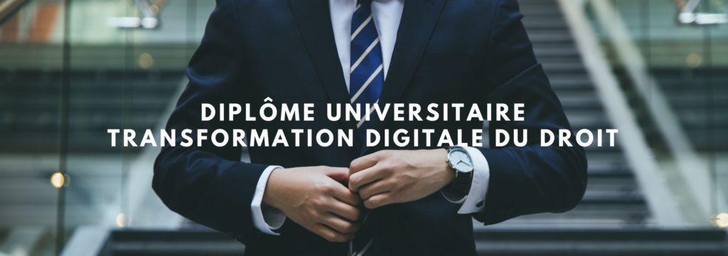 Diplôme Universitaire Transformation Digitale du Droit