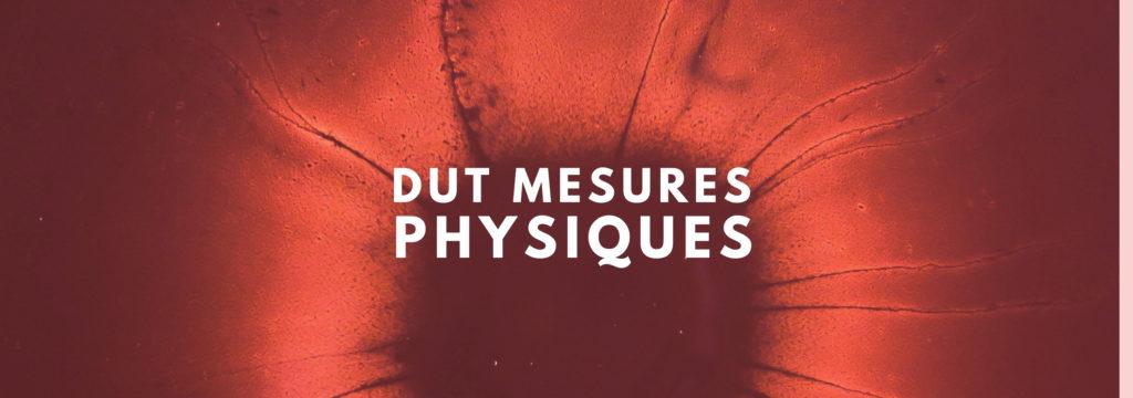 DUT Mesures Physiques
