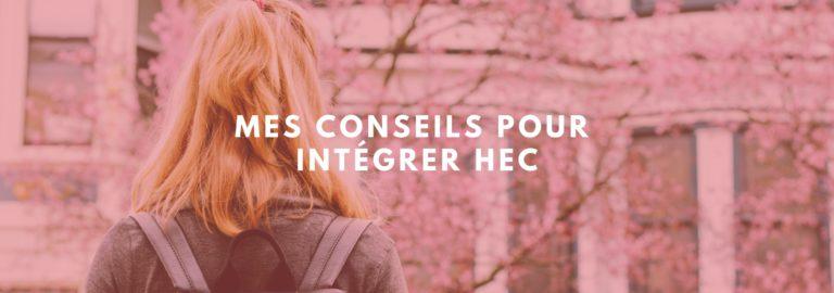 intégrer HEC