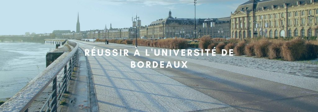 Réussir à l'université de Bordeaux