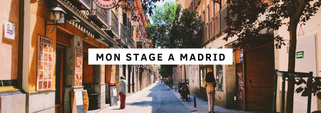 Stage à Madrid