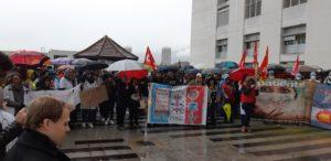 Mobilisation importante à Grenoble