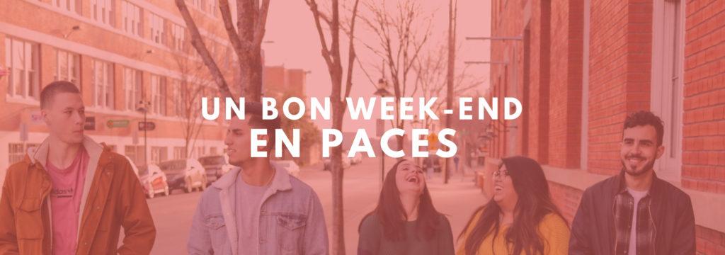Week-end Paces