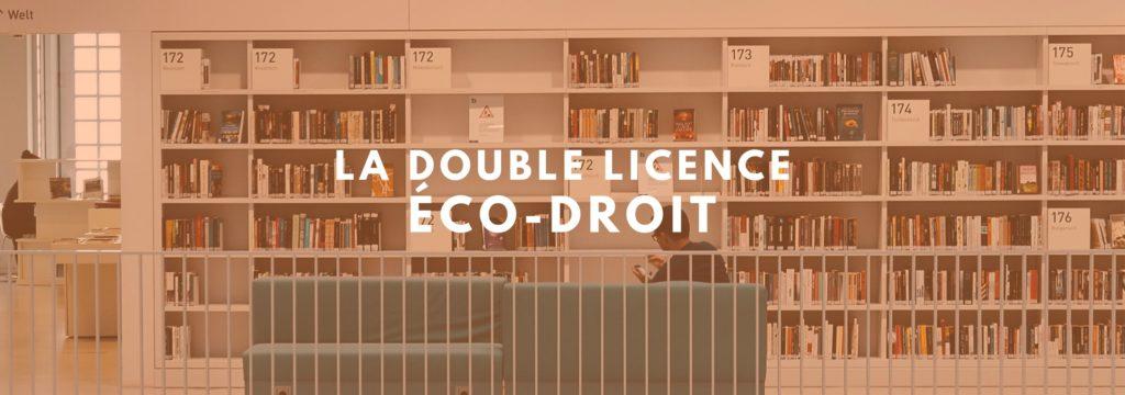 double licence éco-droit