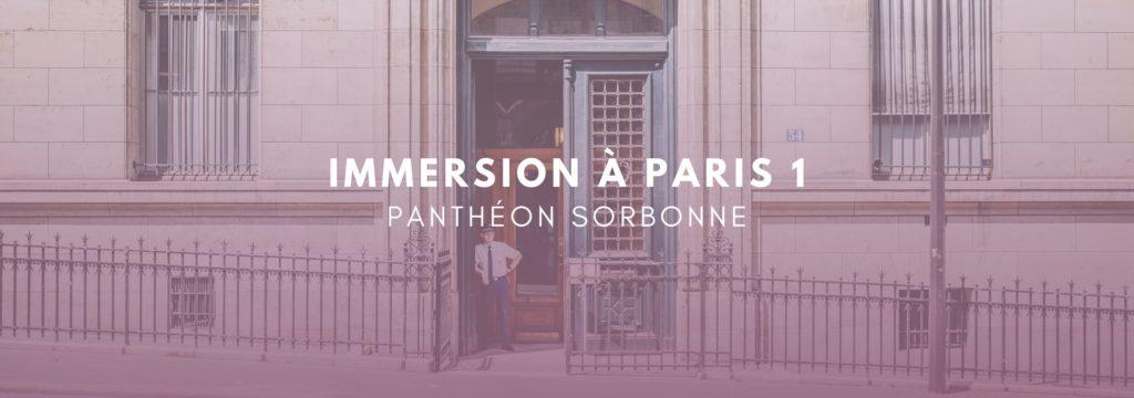 Paris 1 Panthéon Sorbonne