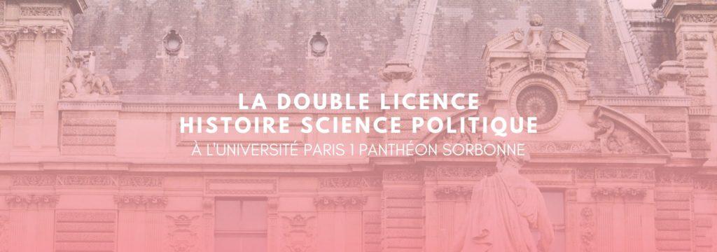 Double Licence Histoire Science Politique