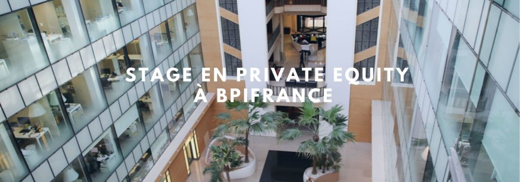 Stage en Private Equity