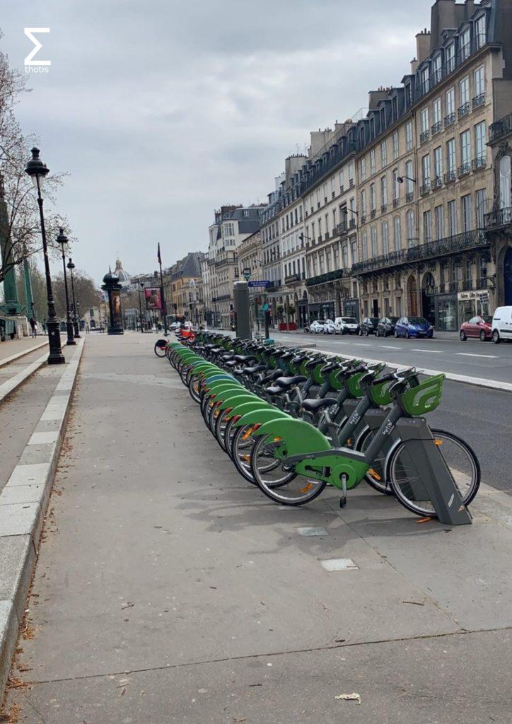 Paris est vide
