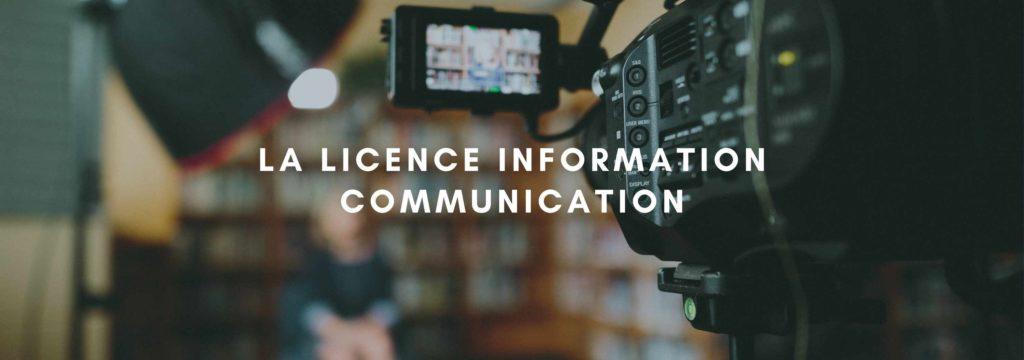 La Licence Information Communication