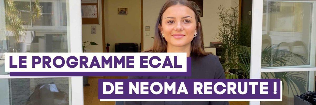 Le programme ECAL de NEOMA
