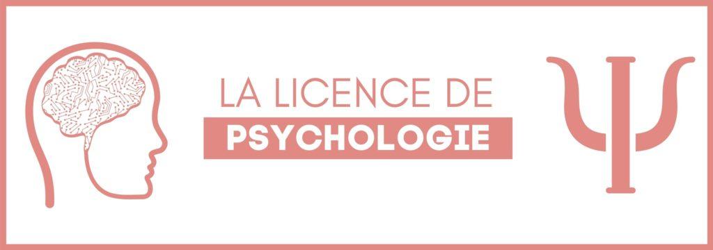 licence de psychologie