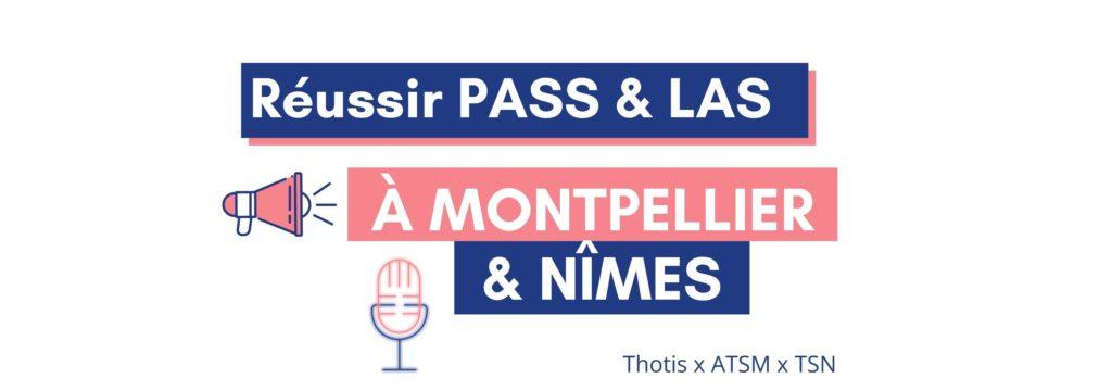 PASS LAS Nîmes Montpellier