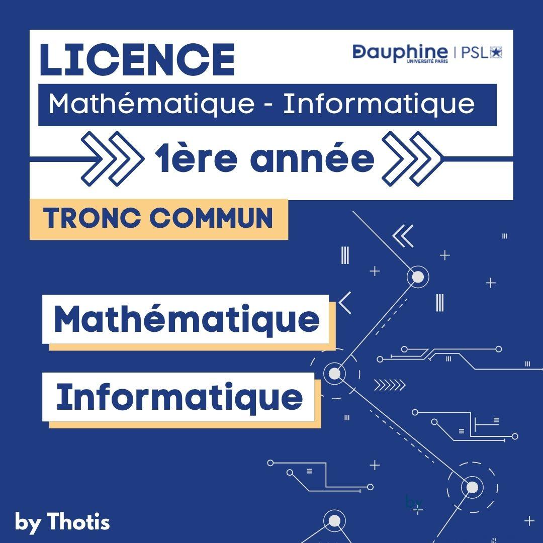 Mathématiques Informatique Dauphine