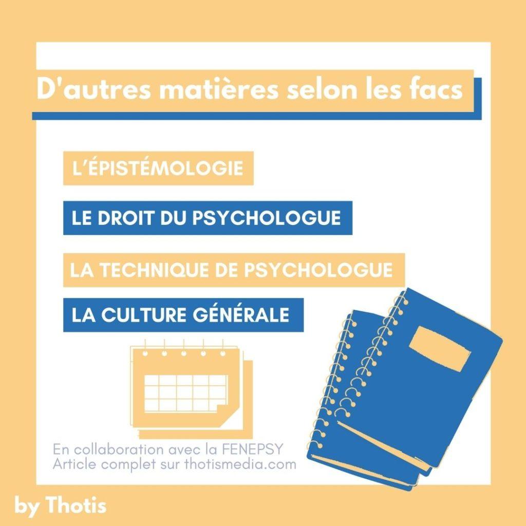 Études psychologie