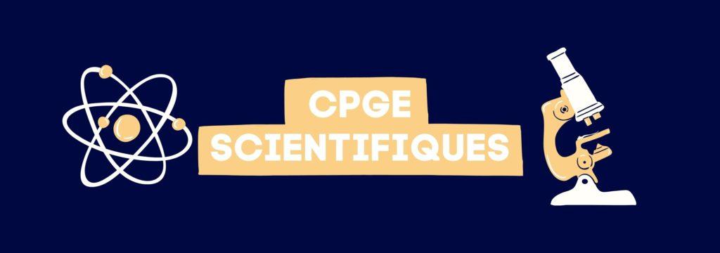 CPGE Scientifiques