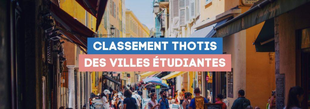 Classement des villes étudiantes