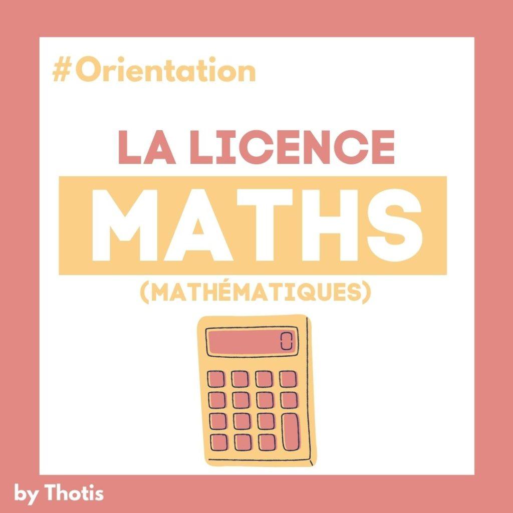 Licence Maths