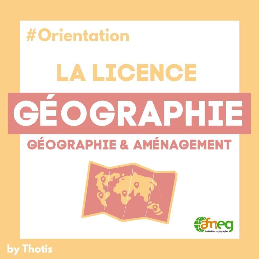 Licence Géographie