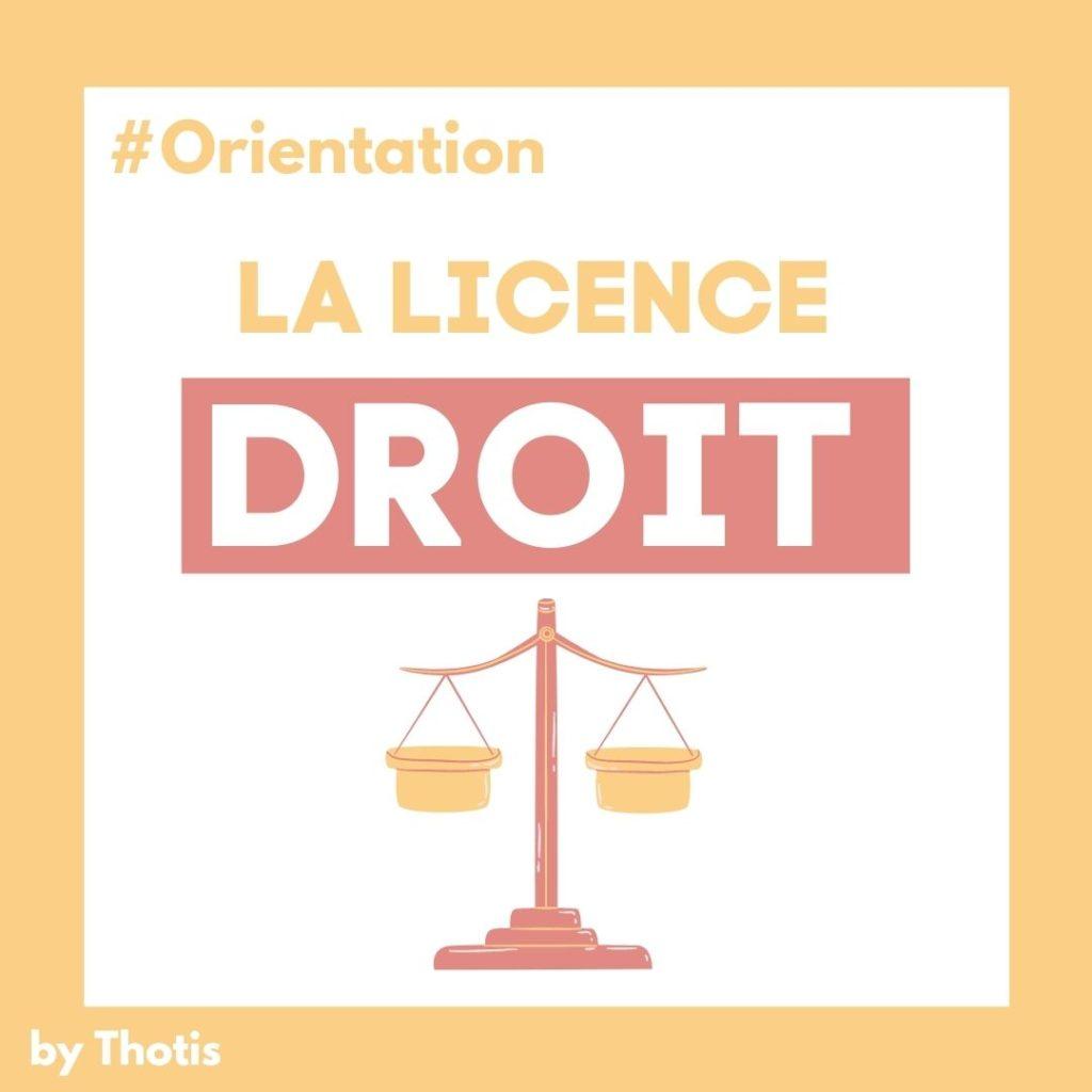 Licence de Droit