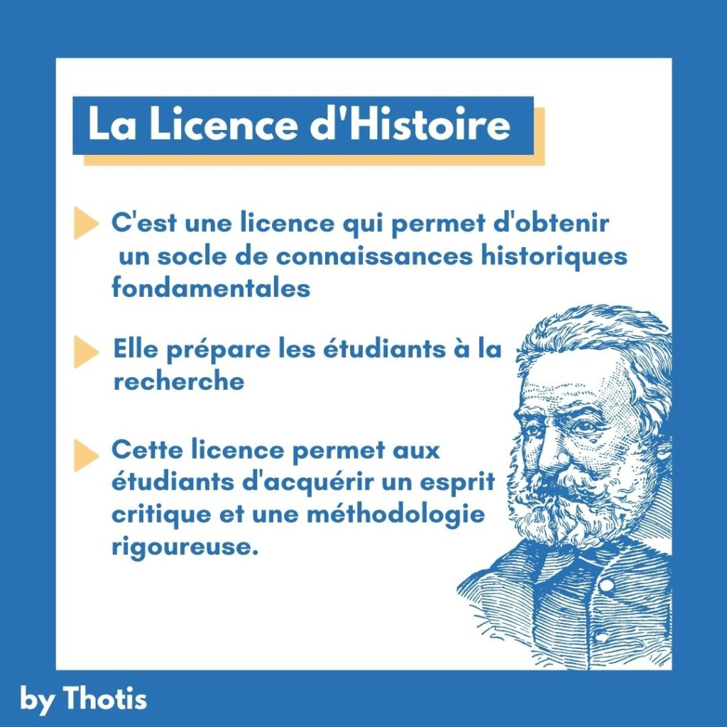 Licence d'histoire
