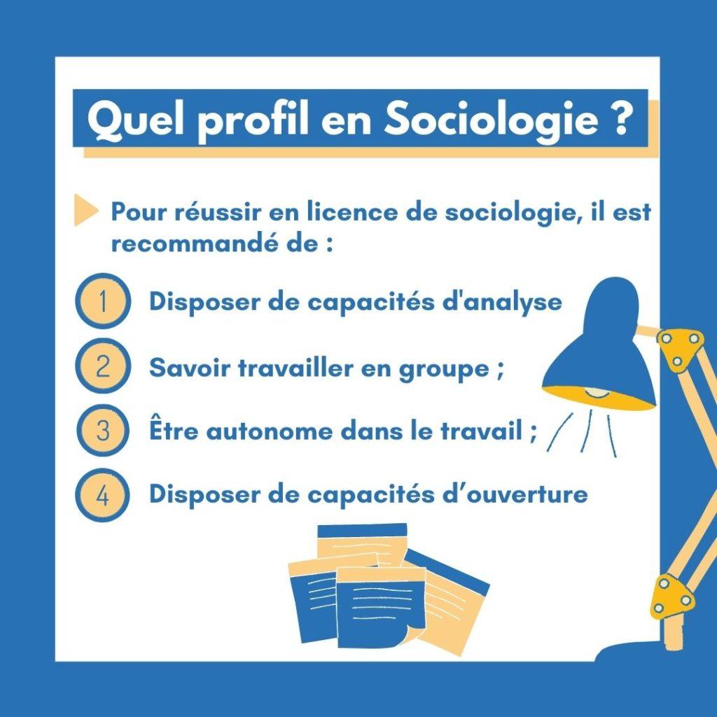 Profil Sociologie