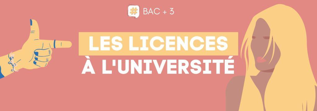 Licences à l'Université