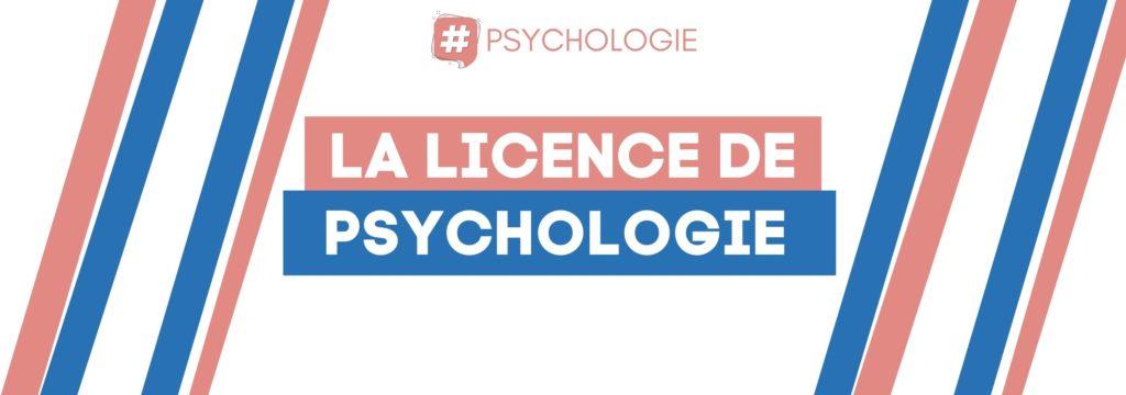 Les études de psychologie