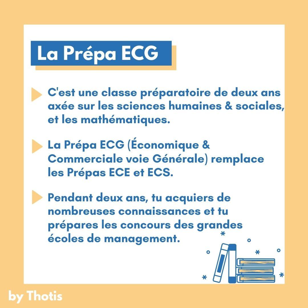 La CPGE ECG