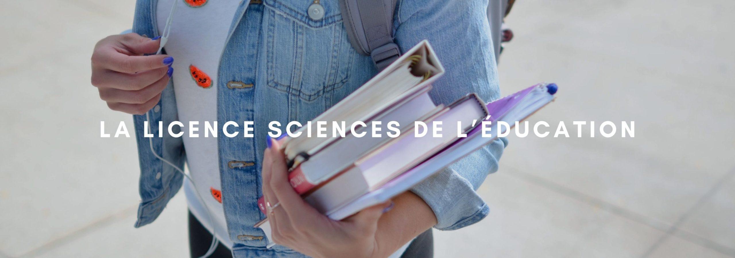 La Licence Sciences de l'Éducation