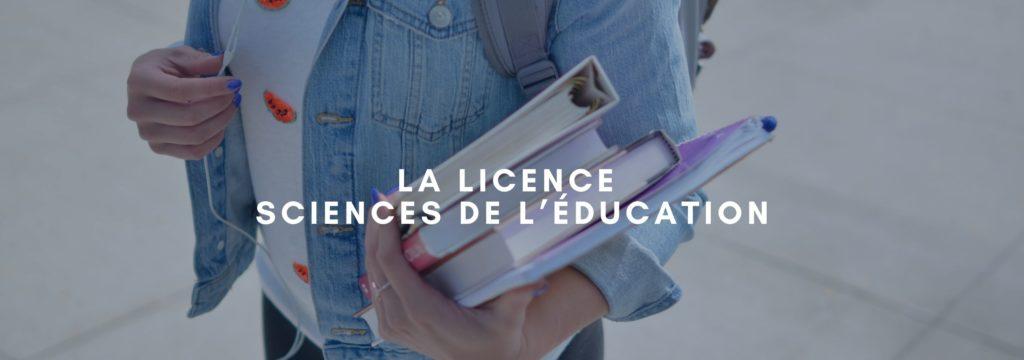 Licence Sciences de l'Éducation