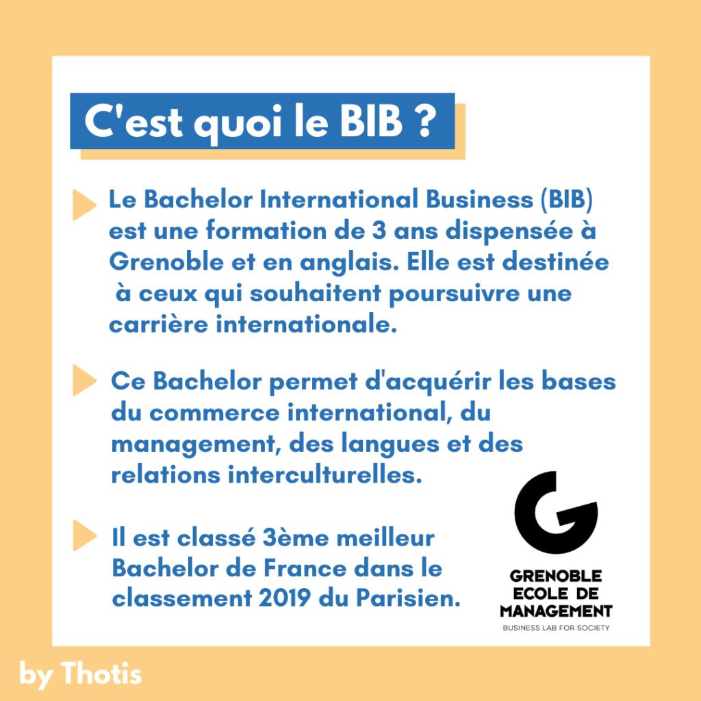 BIB Grenoble Ecole de Management