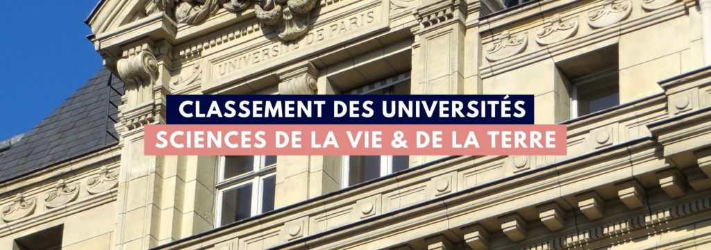 Classement Thotis Sciences Vie Terre