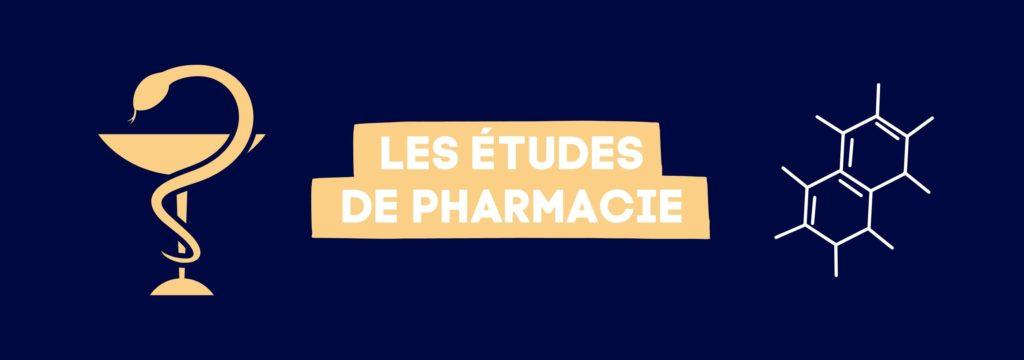 études de pharmacie