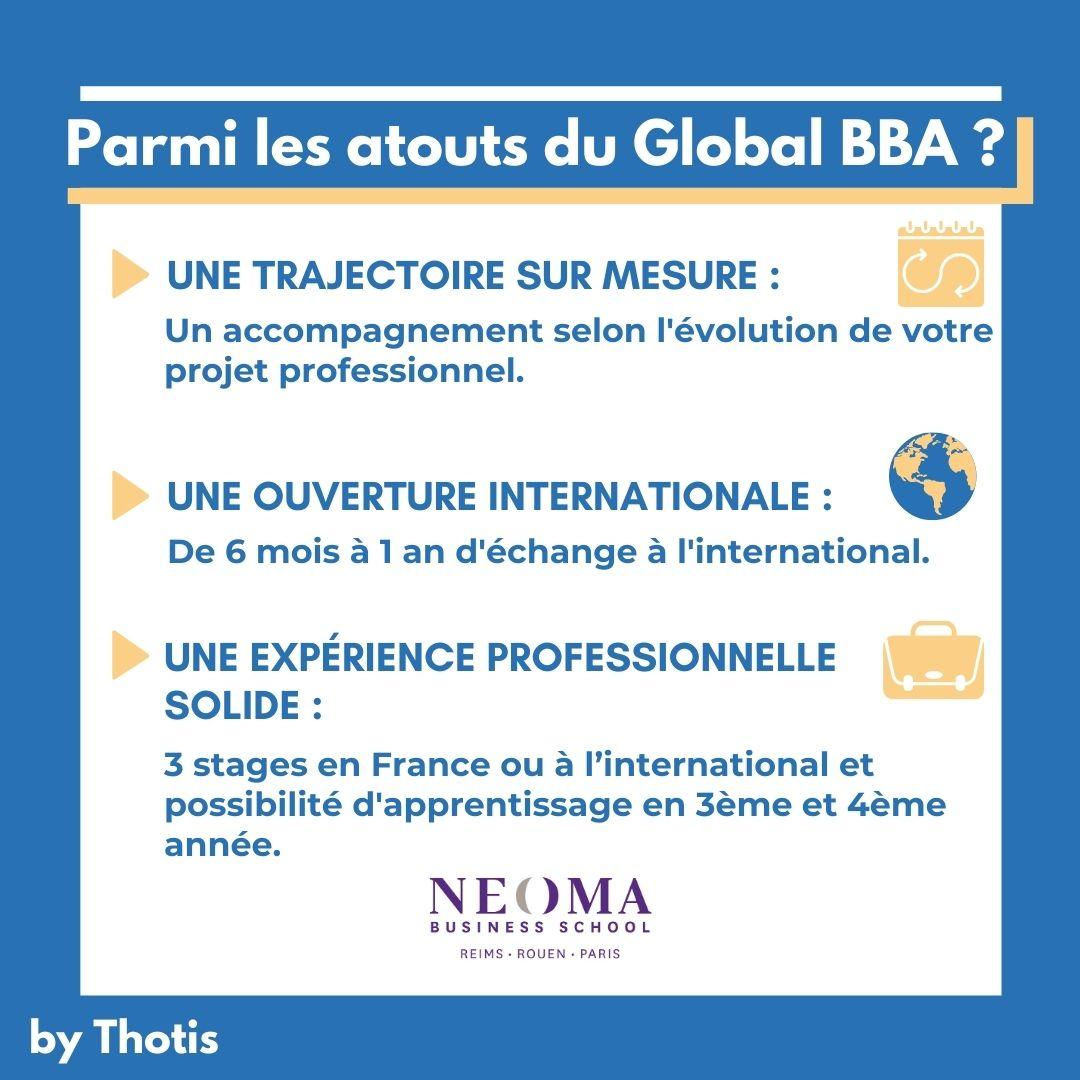 Les atouts du Global BBA de NEOMA