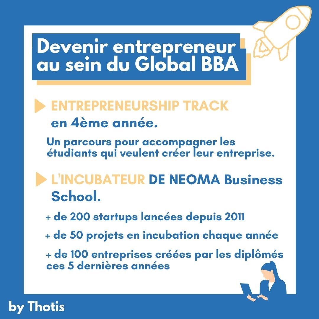Devenir entrepreneur au sein du Global BBA de NEOMA