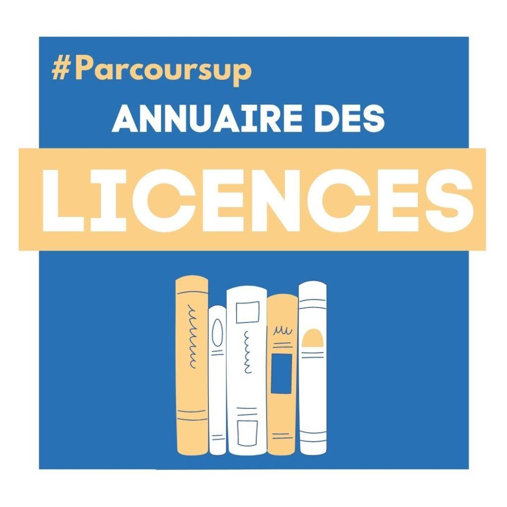 Annuaire Licence Université