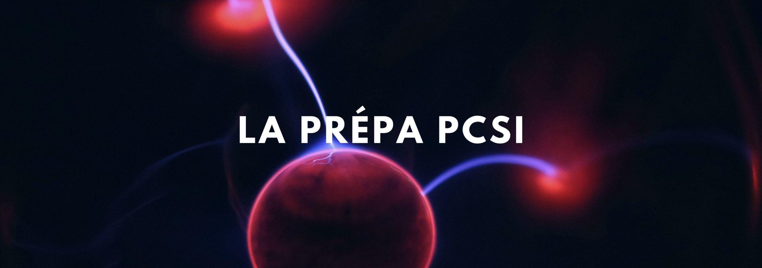 Prepa PCSI