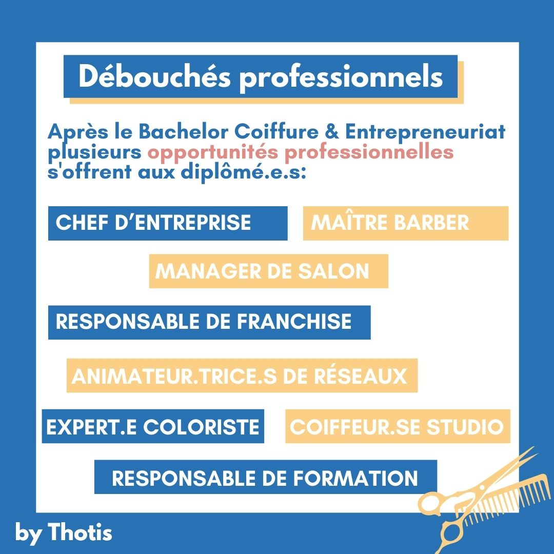 Débouchés professionnels REAL Campus by L'OREAL