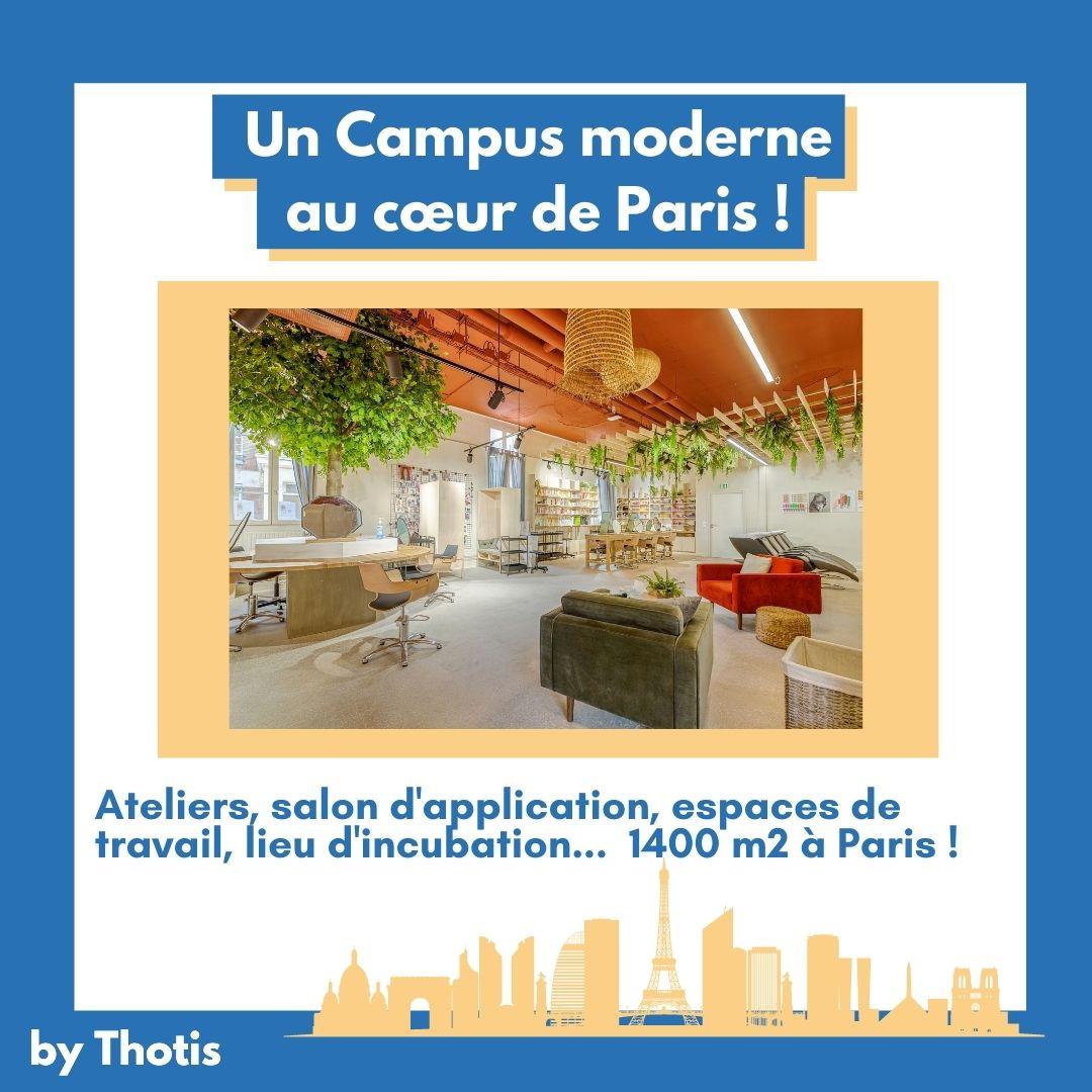 Un Campus au coeur de Paris REAL Campus by L'OREAL