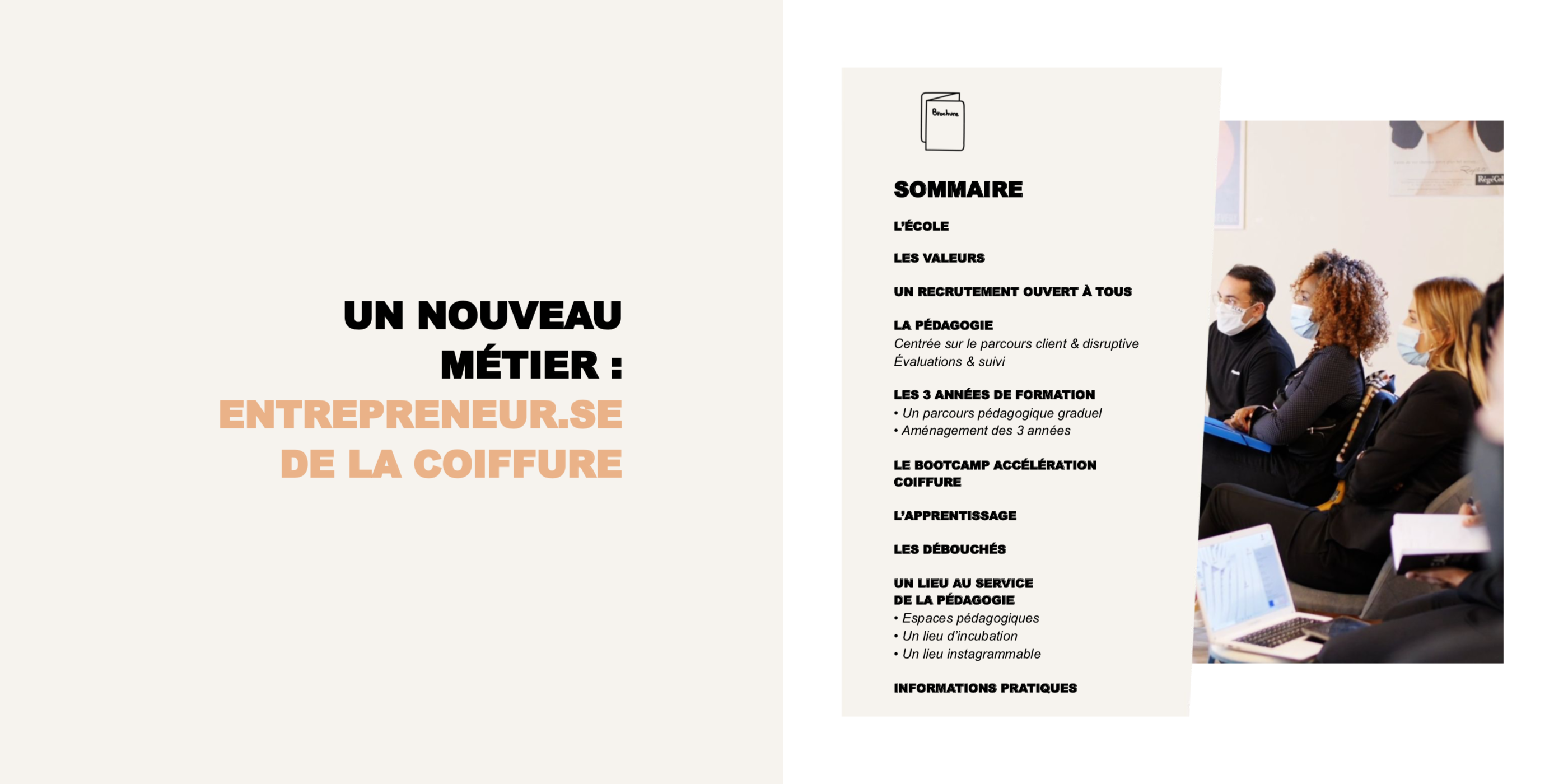 Brochure Bachelor Coiffure & Entrepreneuriat