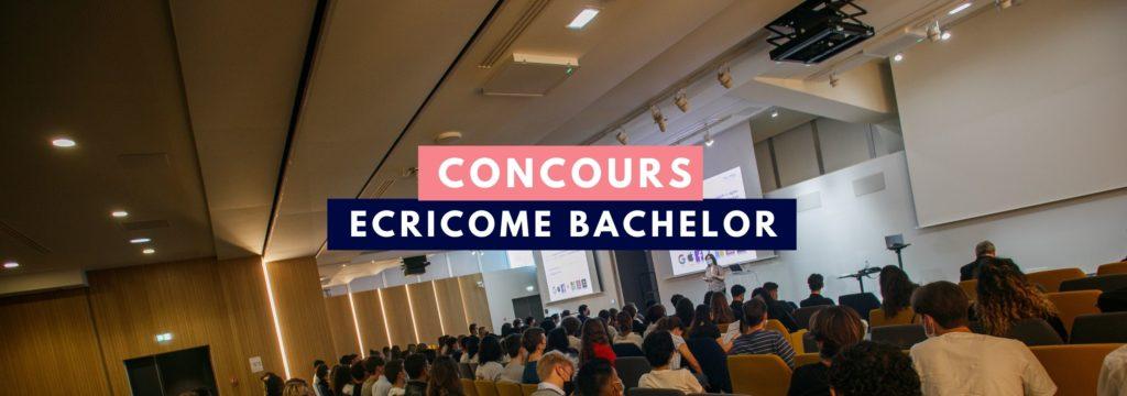 Concours Bachelor Ecricome